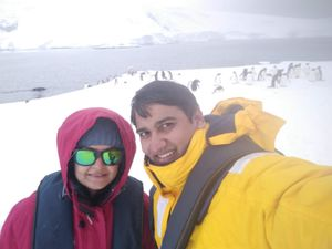 White Continent.... #SelfieWithAView #TripotoCommunity