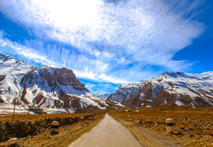 "The never-ending journey to Spiti Valley. ""Literally"""