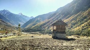 Chitkul-last Indian village in Kinnaur.
