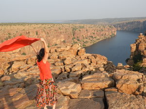 My visit to Grand Canyon of India Gandikota, Lepakshi and Belum caves