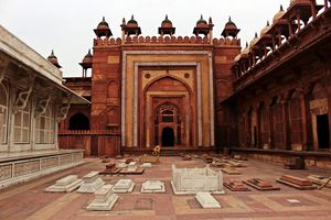 Fatehpur Sikri - The palace of Akbar, the Great.