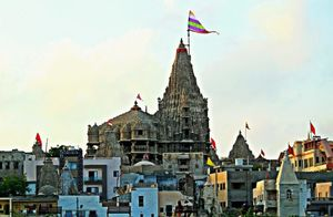 I conclude Char Dham yatra at Dwarkadheesh temple in Gujarat - Soul Esplanade