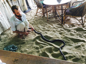 Goa diaries: The blue-eyed guy who can talk to snakes