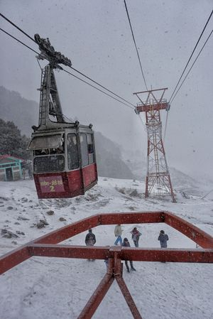 Winter Destination Auli Uttarakhand