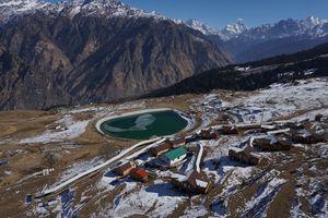 Winter Destination Auli Uttarakhand