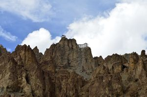 Spiti Valley, Dhankar. Why trekking alone was not wise.