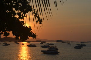 Sunset by the bay - Pattaya