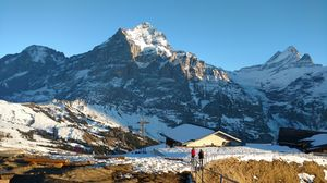 The fairytale village of Grindelwald