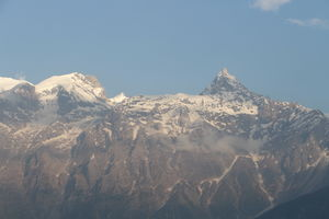 Mount Kinnaur Kailash, Kalpa, and the Kinnauri Apple Orchards