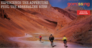 Cycling through MANALI - LEH