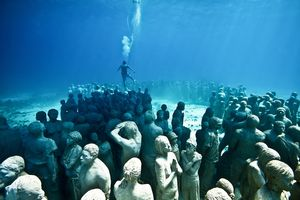 Travel Under Water To See These Unbelievable Sculptures