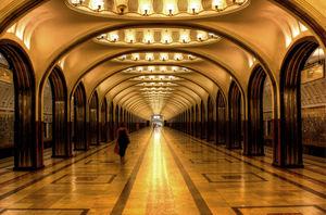 Moscow Metro 1/1 by Tripoto