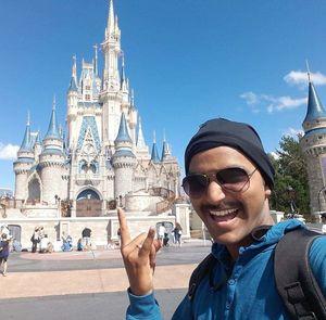 Disneyland, Orlando, USA #SelfieWithAView #TripotoCommunity