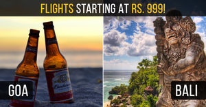 Now Fly To National & International Destinations In As Low As Rs. 999 All-Inclusive!