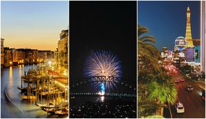 10 Extraordinary Destinations To Spend Your New Year's Eve At
