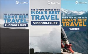 Tripoto Is Awarding India's Best Travel Writer, Photographer & Videographer! Read To Know More