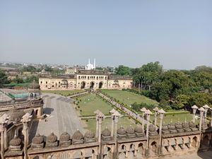 An Evening stroll and a Heritage walk in Lucknow