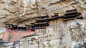 The amazing Hanging Temple of China!