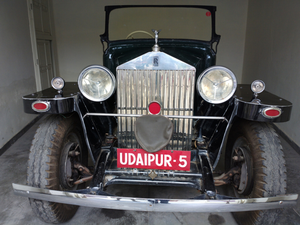 Vintage Car Collection of Udaipur Maharajah