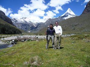 Trekking through Santa Cruz, Peru