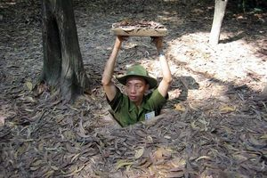How I met Nadine in the Cu Chi Tunnels
