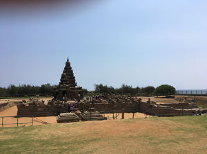 Mahabalipuram A Beautiful Rock Cut Monuments Near Sea