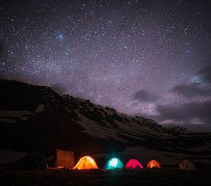 Camping in Spiti
