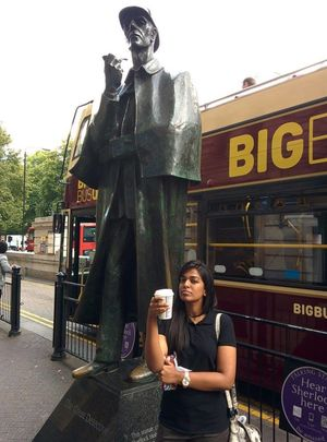 Exploring London via Sherlock Holmes