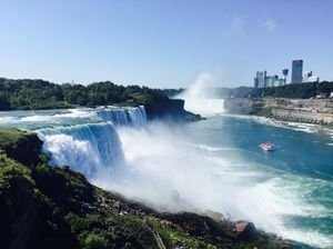 Gigantic yet Spectacular Niagara Falls. #travelguideUSA