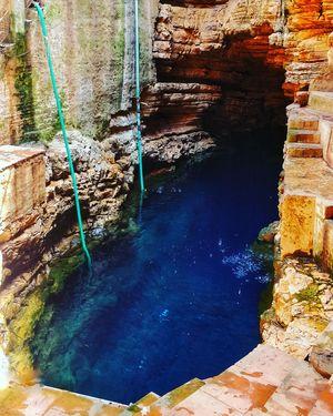 Mystical Blue Water Lagoon- Bhimkund
