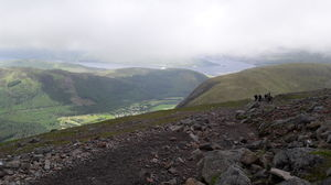 My record-setting SOLO climb of Ben Nevis, Britain's highest mountain