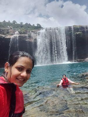 Krangshuri falls pool, west Jaintia hills #SelfieWithAView #TripotoCommunity