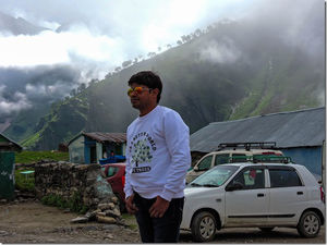 After one year, Delhi to Manali, A Monsoon drive, A night drive