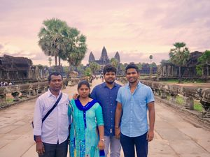 Took my parents to a 15 day vacation outside India. Singapore, Malaysia, Cambodia and Thailand