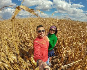 Among the cornfields of Serbia????  #SelfieWithAView #TripotoCommunity