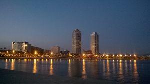 Traversing the capital of Catalonia
