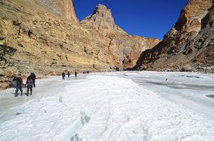 Chadar Trek - Walking on (thin) Ice