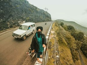 Khandala cliff