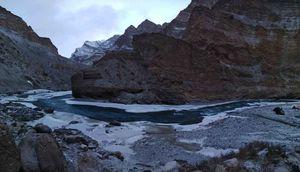 Chadar Trek- an adventure trek on frozen river!!!