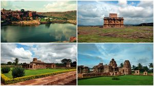 Backpacking the serene Chalukya monuments - Badami Pattadkal Aihole