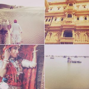 One day solo trip in the golden city of Rajasthan!