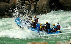 Rafting in Rishikesh... adrenaline rush guaranteed