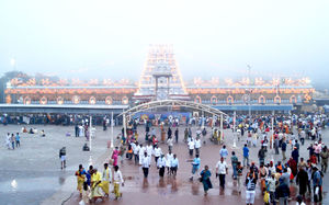 The divine and the holy trip to Tirupati