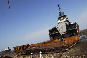Alang Ship Breaking Yard 1/1 by Tripoto