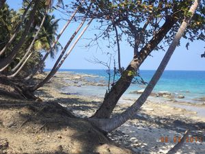 Port Blair to Ross Island by ship, Andman Nicobar