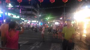 Colorful Nightlife Bangla Walking Street, Phuket, Thailand