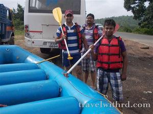 एक सफर नदी की धाराओं संग (River Rafting In The Swarnarekha River, Jamshedpur) - Travel With RD