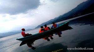 काठमांडू से पोखरा- सारंगकोट, सेती नदी, गुप्तेश्वर गुफा और फेवा झील (Pokhara- Nepal Part-III) - Trave