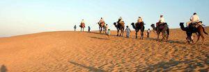 Sam Sand Dunes : Jaisalmer