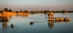 Heritage Walk of Gadisar Lake : Jaisalmer